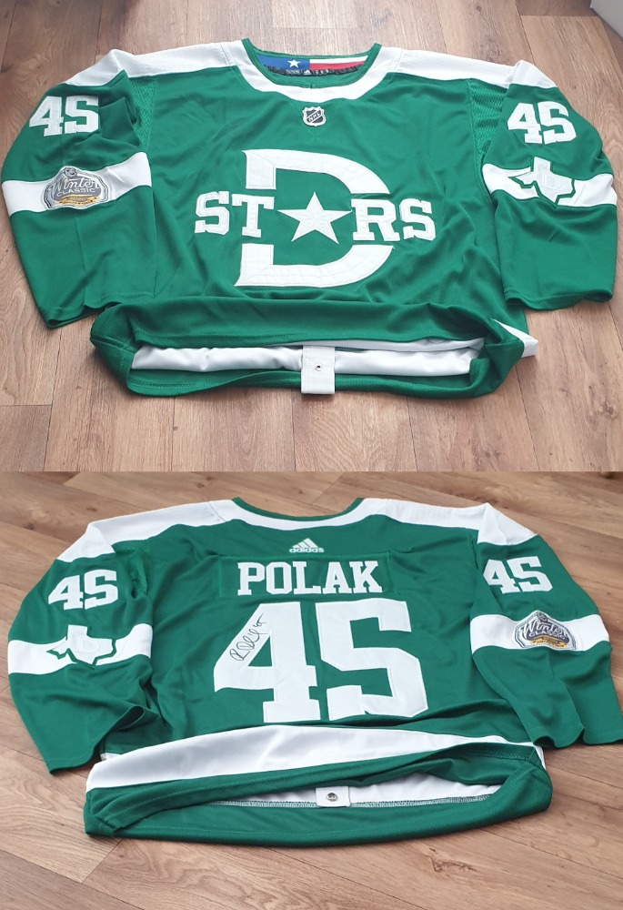 Podepsaný dres Romana Poláka (Dallas Stars - Winter Classic 2020) photo